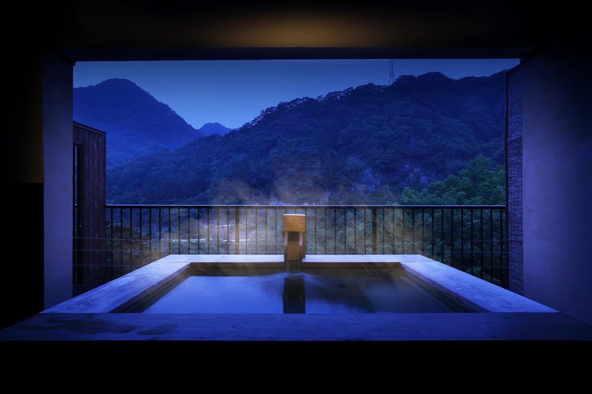 【館内施設】貸切露天風呂「湯るり」