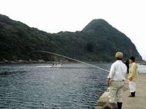 竹野浜で海釣りなんて〜楽しい