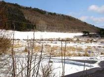3月末日の雪景色