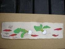 客室に・季節の野菜をプレゼント