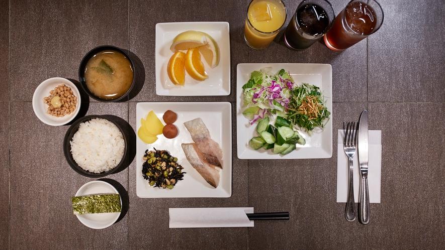 【朝食】3階レストラン