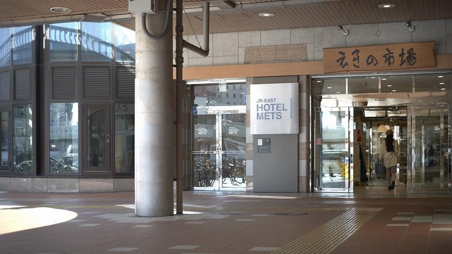 【アクセス】1階入り口