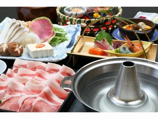【秋冬旅セール】【料理長特選】 喜茂別産ハーブ豚「しゃぶしゃぶ食べ放題」プラン
