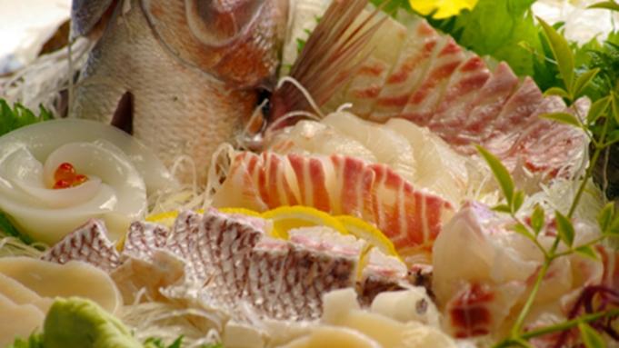 瀬戸内海の海の幸と自家菜園のお野菜♪グレードアップ会席