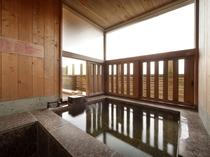 半露天風呂付き特別室☆『うららかな音』お風呂