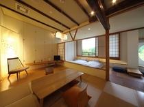檜内風呂付き特別室ー『結の米』客室