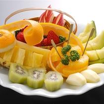 *別注料理一例/人気NO.2のフルーツ盛り合わせ