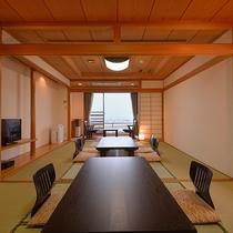 *和室14畳一例/6名様まで泊まれる当館で一番大きなお部屋タイプ