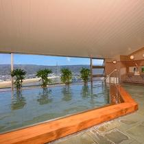 *伊豆石展望大浴場一例/遠赤外線効果で体の芯からぽかぽかに温まると言われています