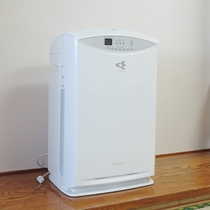 *客室設備/全室に加湿空気清浄器を完備。全館禁煙で気持ちの良い環境を目指しております
