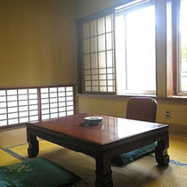*和室6畳一例/一人旅でお越しの方にもご利用頂けるお部屋です。