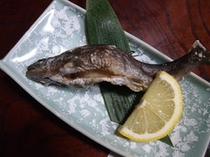 山菜や岩魚、地元の食材を使った盛りだくさんの料理2