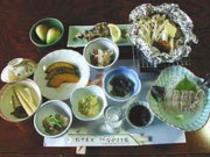川魚や山菜などの山里料理