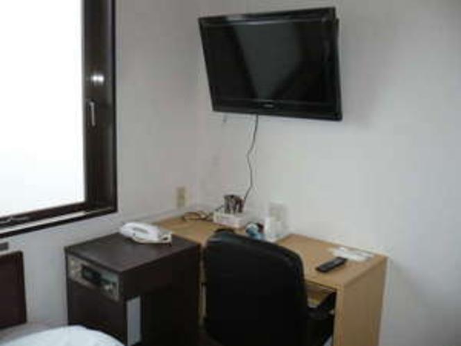 32型テレビが全室完備♪