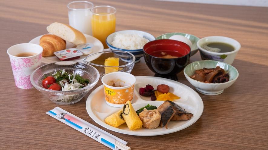 *【朝食一例】朝食バイキング ※新型コロナウイルス感染拡大防止のため休止中です。