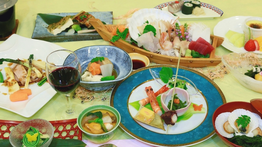 【夕食一例/季節の幸プラン】