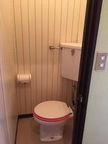 客室のトイレです。