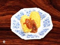 揚げ物 (海老真丈、カニクリームコロッケ、旬な魚の唐揚げ、季節の野菜等のいずれか)