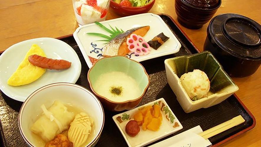 *【朝食例】朝からしっかりと食べて、お出かけください。