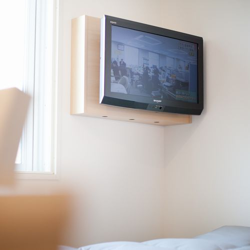 客室テレビ スーパーホテル東京・大塚