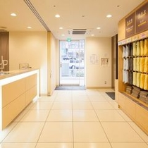 1階エントランス スーパーホテル東京・大塚