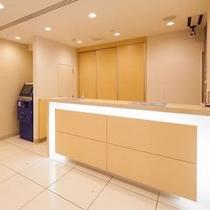 フロント&精算機 スーパーホテル東京・大塚
