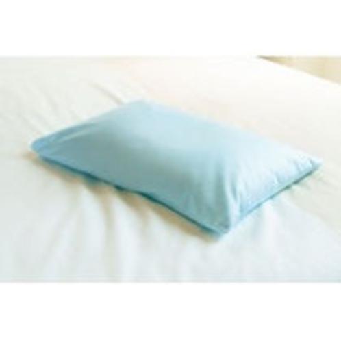 【貸出数量限定枕】青色枕・・そば殻のようなパイプ枕は高めがお好みの男性に大人気♪