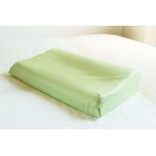 【貸出数量限定枕】低反発枕の緑色・・男性のリピート率NO1の枕です♪
