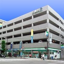 ミニバンOK!大仙台駐車場(徒歩4分)。出し入れ自由でチェックアウト後19時まで駐車可!