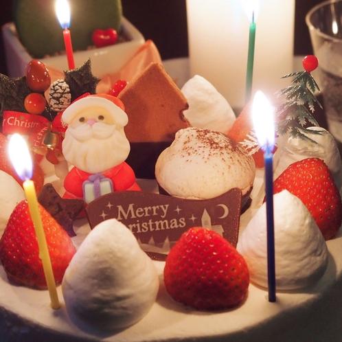 クリスマスは草津温泉で過ごそう♪クリスマスカップルプランはケーキ&ワイン付き!素敵なクリスマスを。