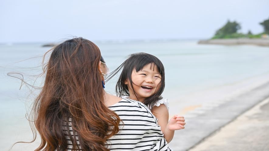 お子さまにとって初めての石垣島でも安心してお過ごしいただけます