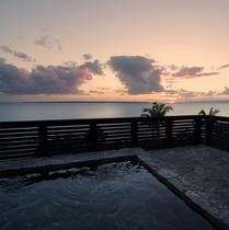 島内唯一の展望露天風呂