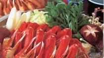 *【カニすき】使用する蟹は、身入りの良いものを厳選しております