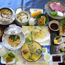 松茸&ステーキの贅沢な競演★