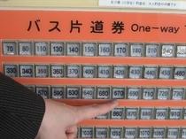 空港バス切符券売機②
