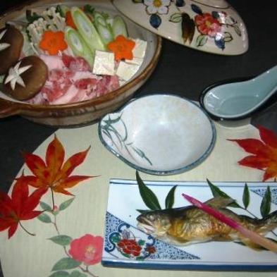 【すべっ得】◆2食付プラン◆ スキー・ホ゛ート゛のあとは、お鍋を囲んだ料理で心も体もぽかぽかプラン