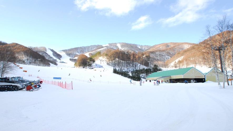 *ホワイトワールド尾瀬岩鞍スキー場/関東最大級だからパウダーゲレンデを思いっきり満喫できます!