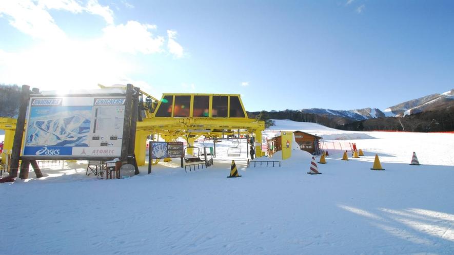 *かたしな高原スキー場/ファミリーもシニアスキーヤーもアットホームな雰囲気で安心・安全!