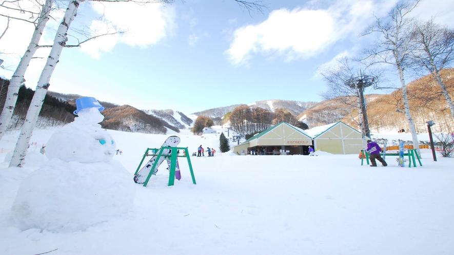 *ホワイトワールド尾瀬岩鞍スキー場/スキー・スノボ以外に雪遊びも楽しめます◎