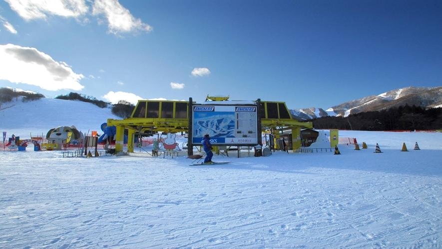 *かたしな高原スキー場/関東唯一のスキーヤー専用スキー場!ファミリーやシニアも安心♪