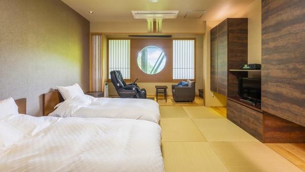 一般客室(本館)ツインベッド ※眺望なし