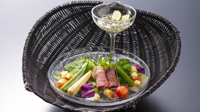 【8/7〜14】料理人気1位 阿波牛鹿肉ローストあめご姿造りの特別会席料理