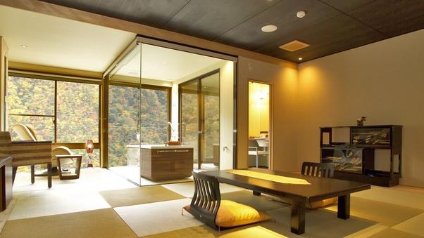 展望風呂付客室501号室「小夜終」