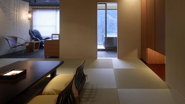 展望風呂付客室502号室「花伝」