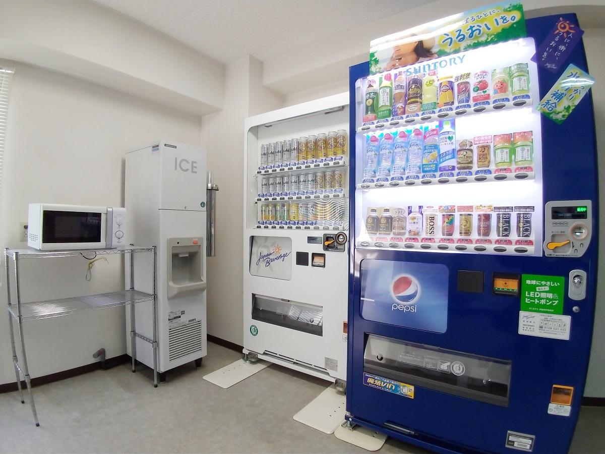 2階自販機コーナー