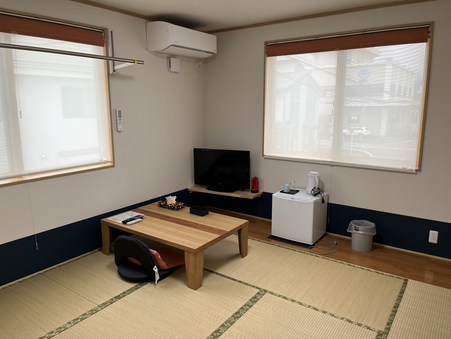 【2021年改築】【本館】和室8畳【禁煙・シャワールーム付】