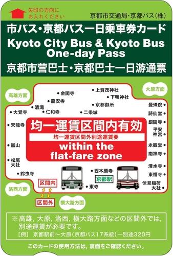 市バス 一日乗車券(大人用)