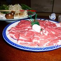 【すき焼き一例】自家製野菜で食べるすき焼きは格別!