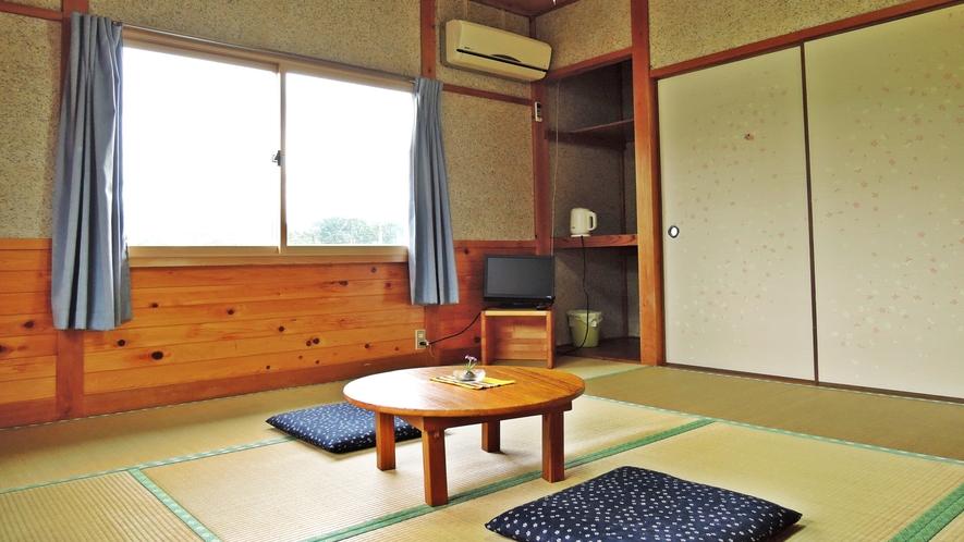 *【部屋】和室8畳一例でございます。Wi-Fiやアメニティをお部屋に完備しております。