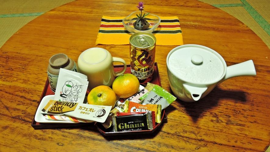 *【部屋】お部屋にはお茶セットもご用意しております。